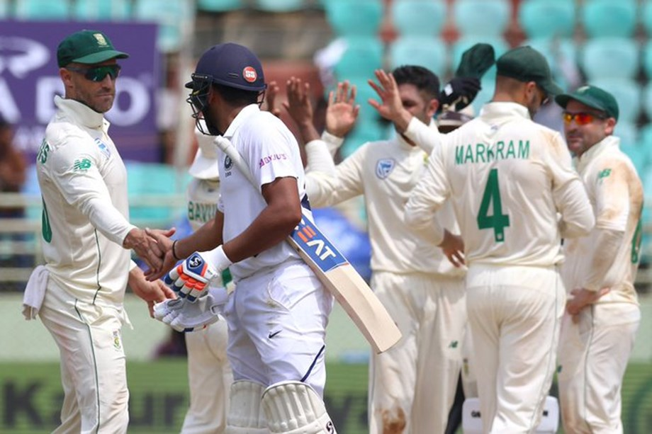 TEA SCORES: India Vs South Africa, 1st Test