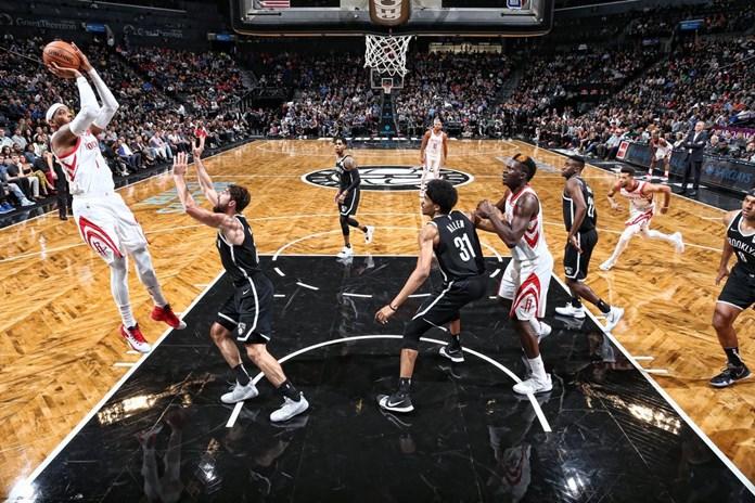 Houston Rockets open up in style defeats Brooklyn Nets