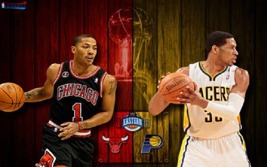 In a close counter Indiana Pacers surpasses Chicago Bulls