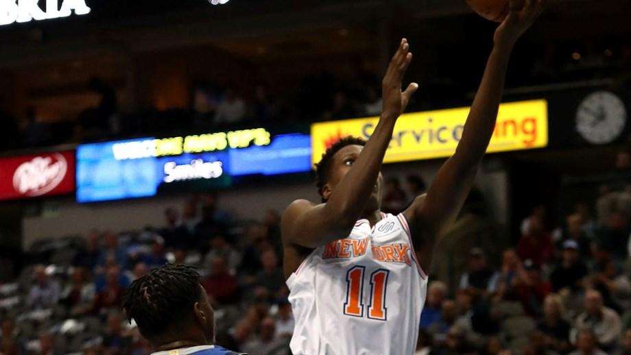 Knicks overtook Mavericks for their first win