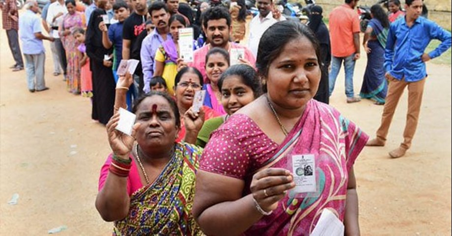 Karnataka by-election, voting underway