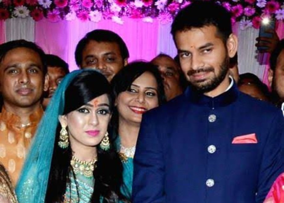 Forced to marry Aishwarya against my wishes, says RJD leader Tej Pratap