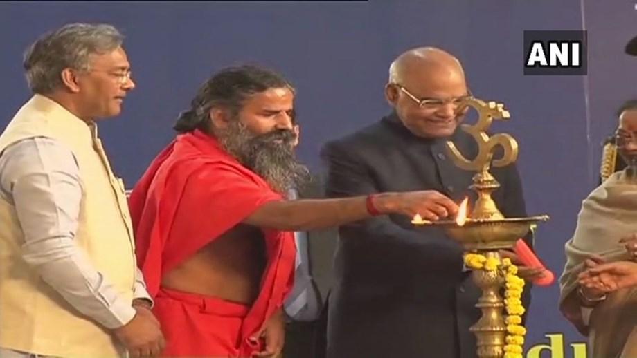 President Kovind inaugurates two-day 'Gyan Kumbh' at Patanjali University