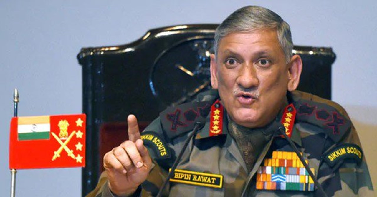 We cannot close our eyes to what is happening in Punjab: Army Chief Rawat