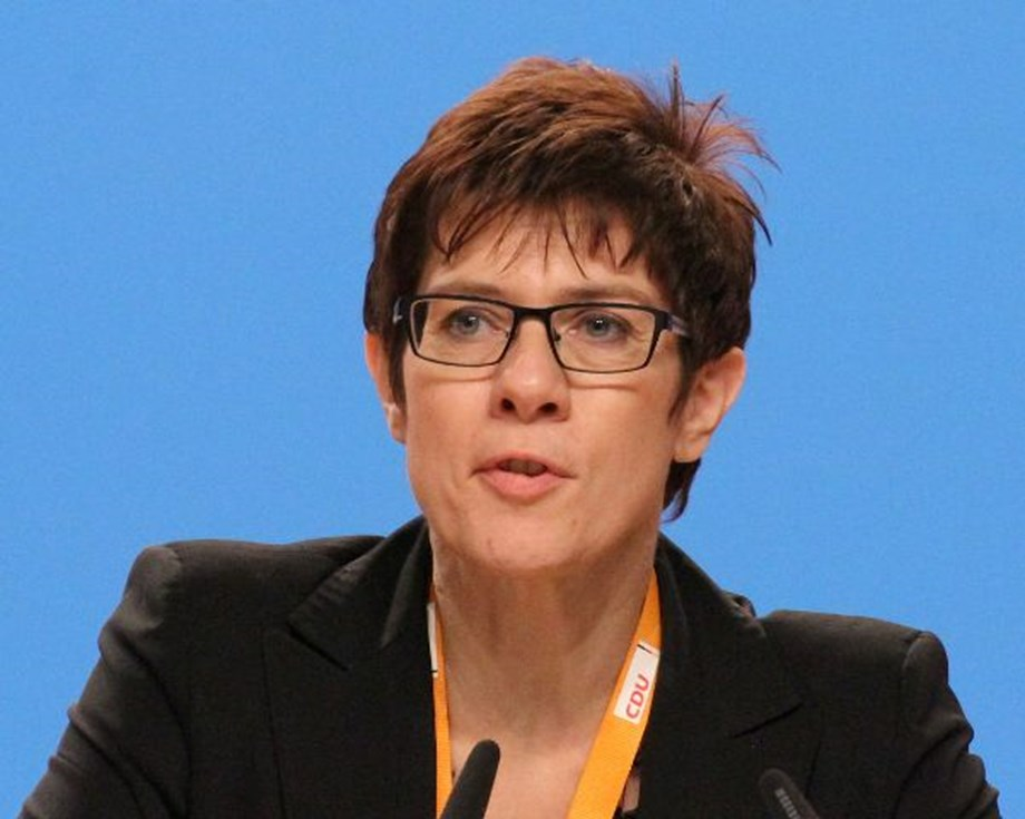 Karrenbauer won most support as CDU chief, eyes for second round
