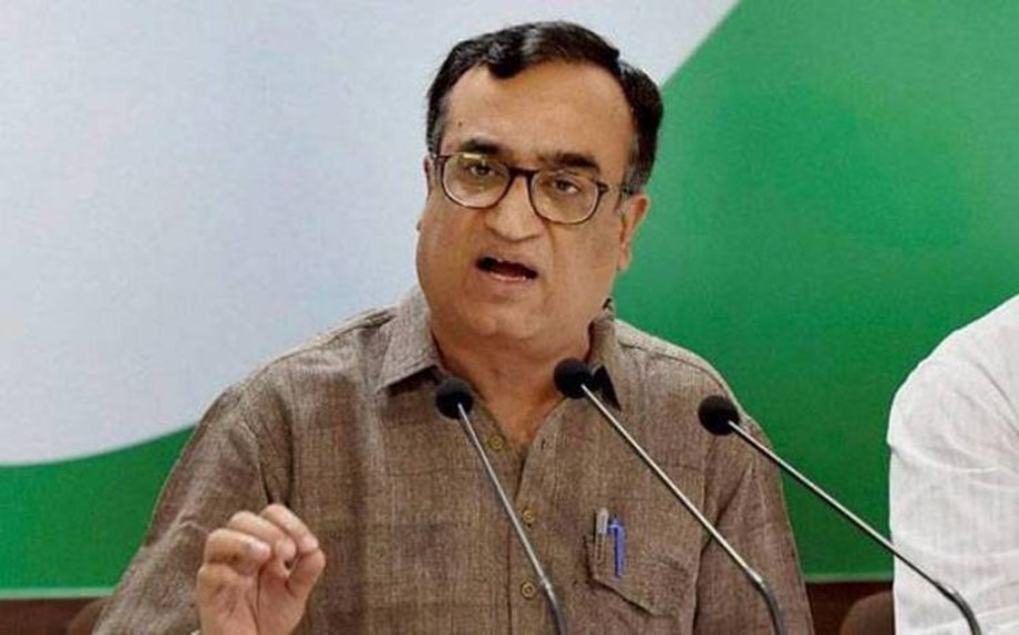 Ajay Maken steps down as Congress's Delhi unit chief citing health reasons