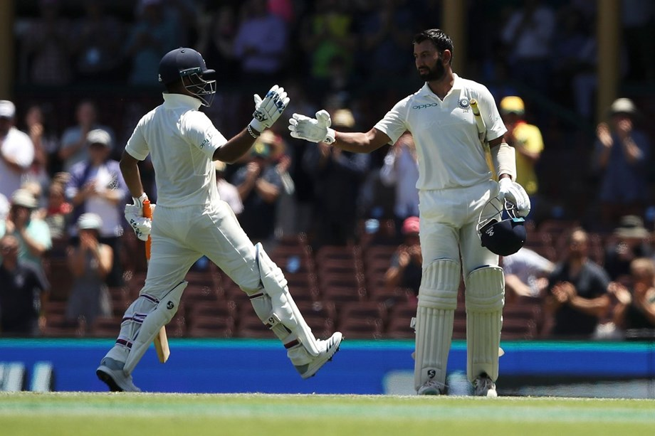 India post healthy 491/6 at Tea on Day 2 of Fourth Test vs Australia