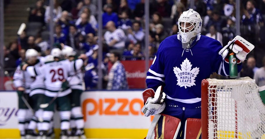 Parise completes Wild comeback against Leafs