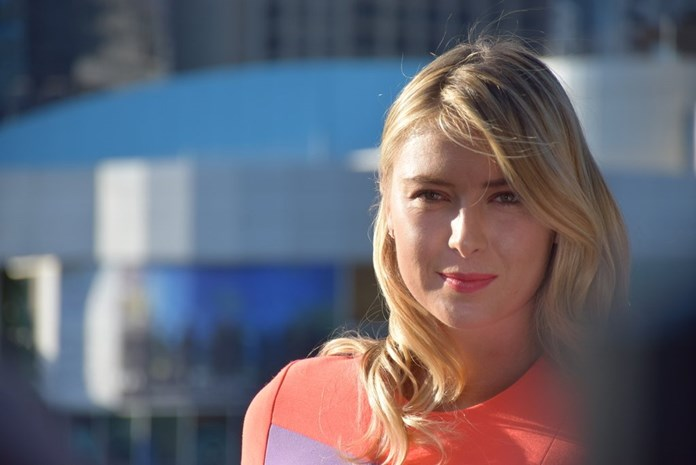 UPDATE 1-Tennis-Sharapova doles out dreaded double bagel to Dart