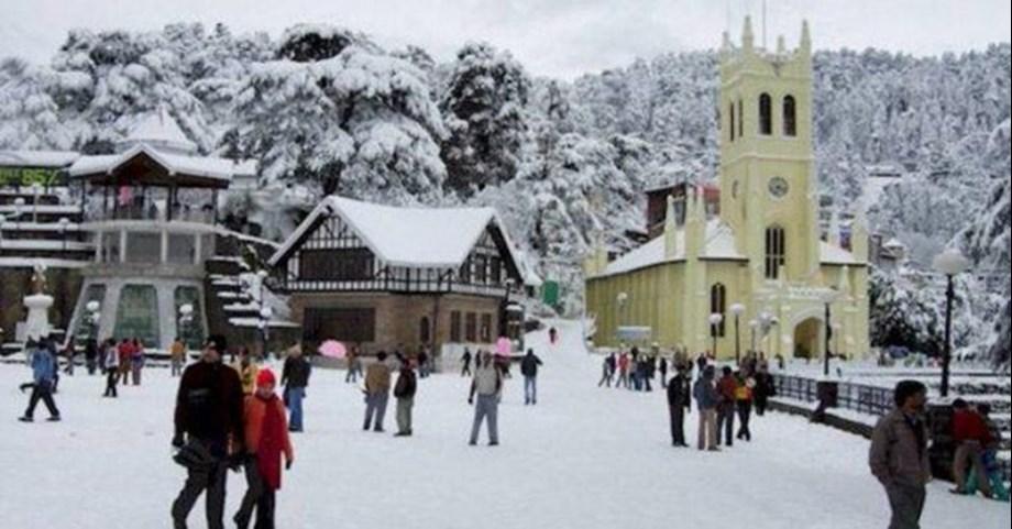 IMD flags off 'orange warning' for heavy snowfall, rain in Himachal