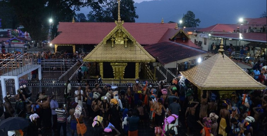 Another historic feet as third woman under 50 year of age prays inside Sabarimala