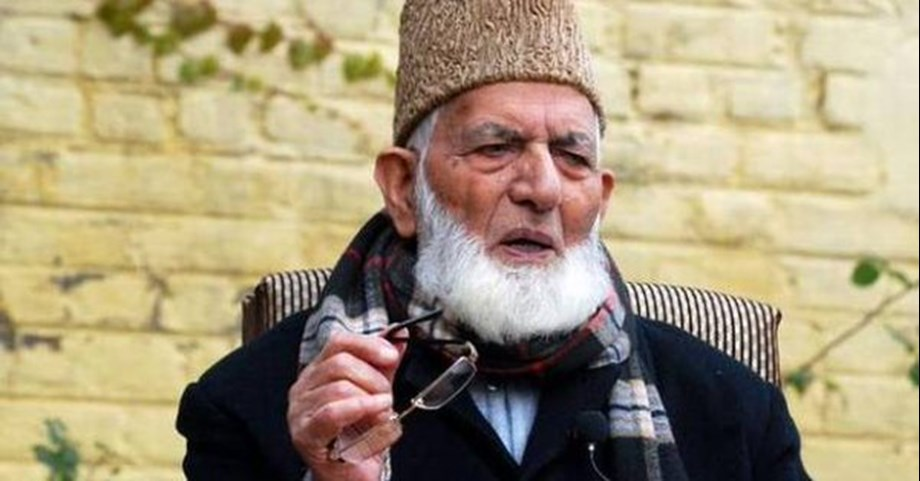 Geelani calls down on 'terrorism' in desecration of Jamia Masjid
