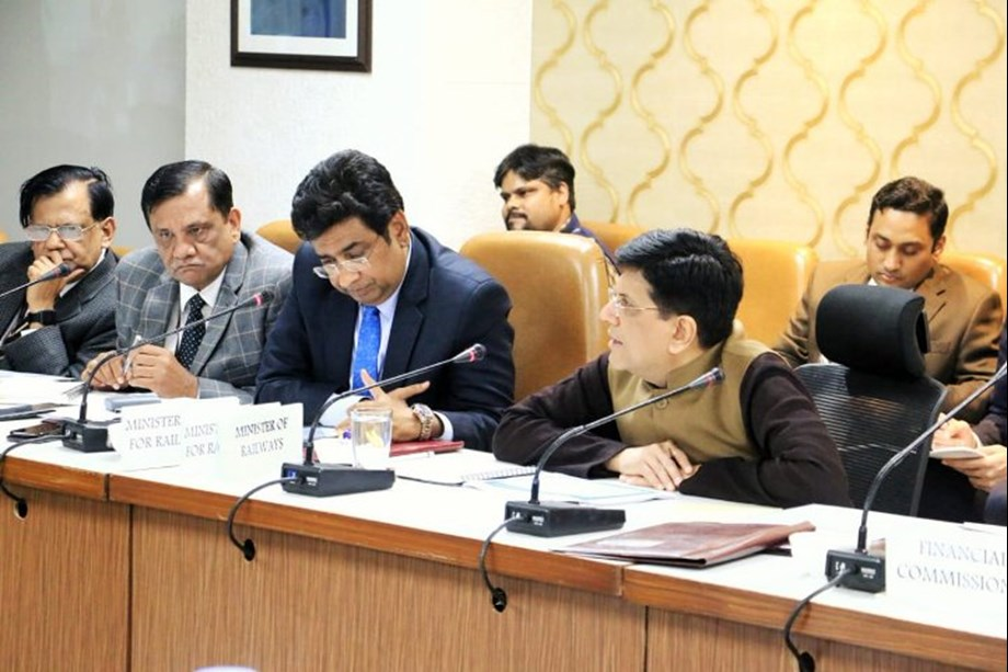 Piyush Goyal holds high-level review meeting with Railway Board, GMs and DRMs