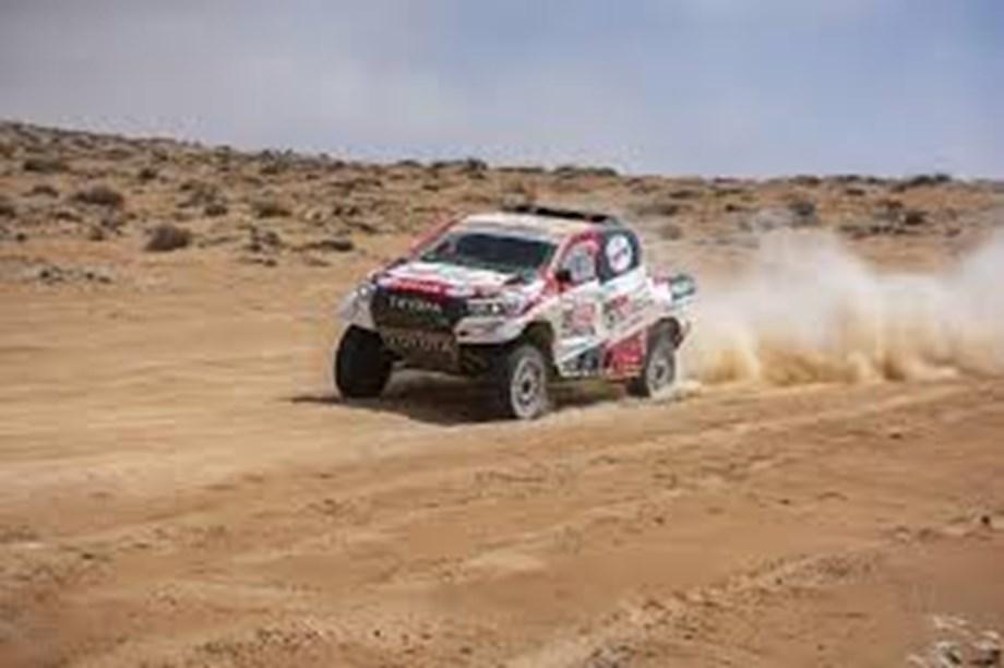 Rallying-Sainz one stage away from becoming triple Dakar champion