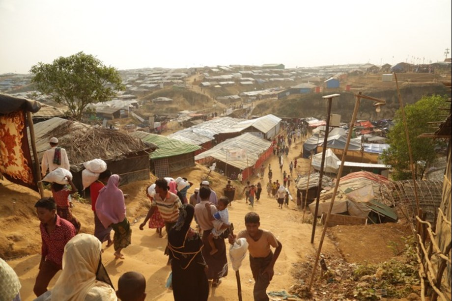 Angelina Jolie visits Rohingya camps, condemns world's failure to prevent crisis