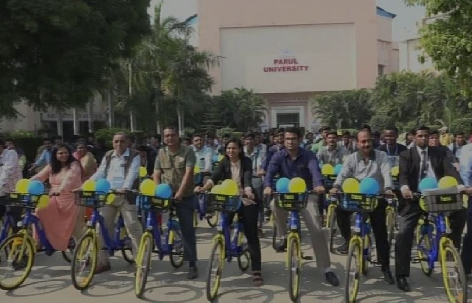 Parul University bans petrol, diesel vehicles on campus to curb pollution