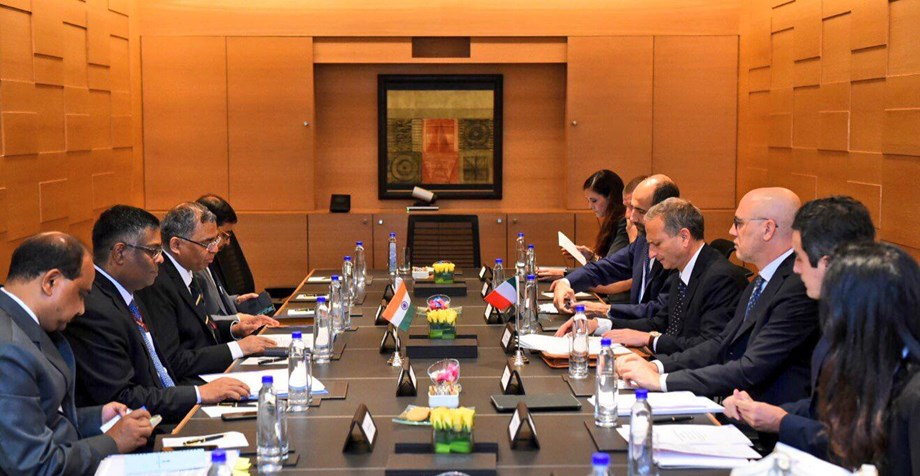 India-Italy shake hands on nurturing economic relations