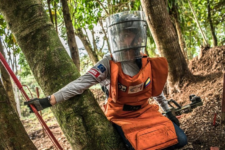 Effects of landmines and explosive remnants on soil needed for rural development