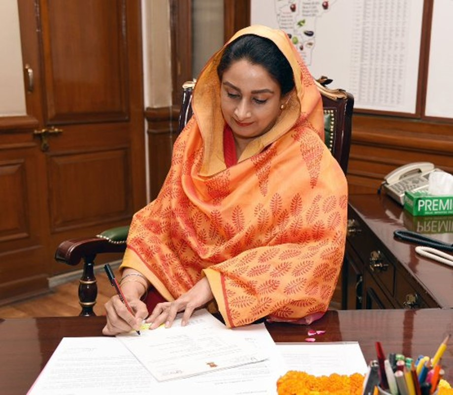 Centre releases Rs 57 lakh as GST refund for langars: Union min Harsimrat Kaur