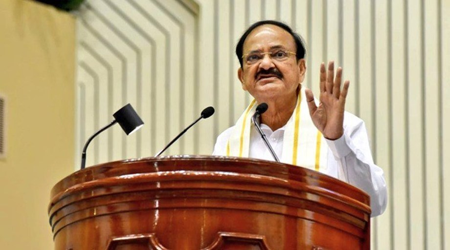 Some people trying to make word Hindu 'untouchable and 'intolerable': VC Prez Naidu