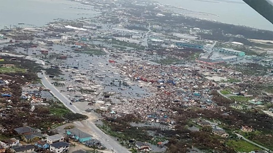 Hurricane in Bahamas urgent reminder to address climate change: WHO chief