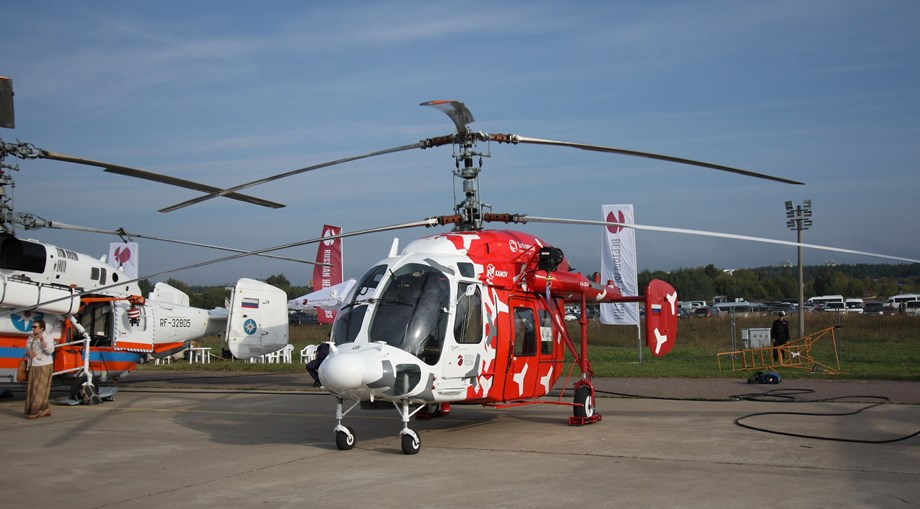 Transport: Russian Helicopters showcases Mi-171A2 and Ka-226T at EEF