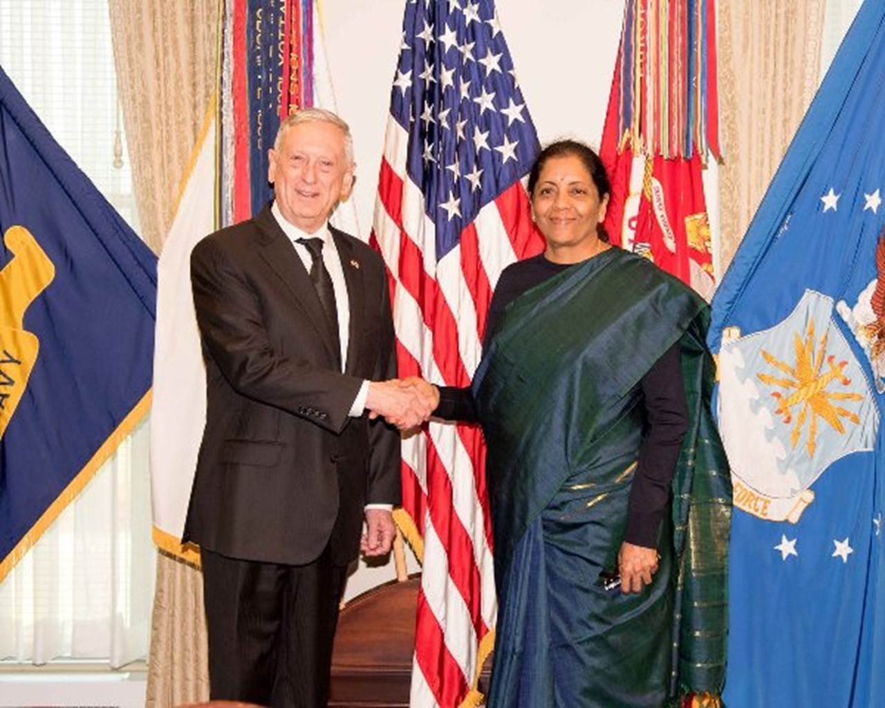 "Mattis describes India as ""stabilising force"" across Indo-Pacific and globe"