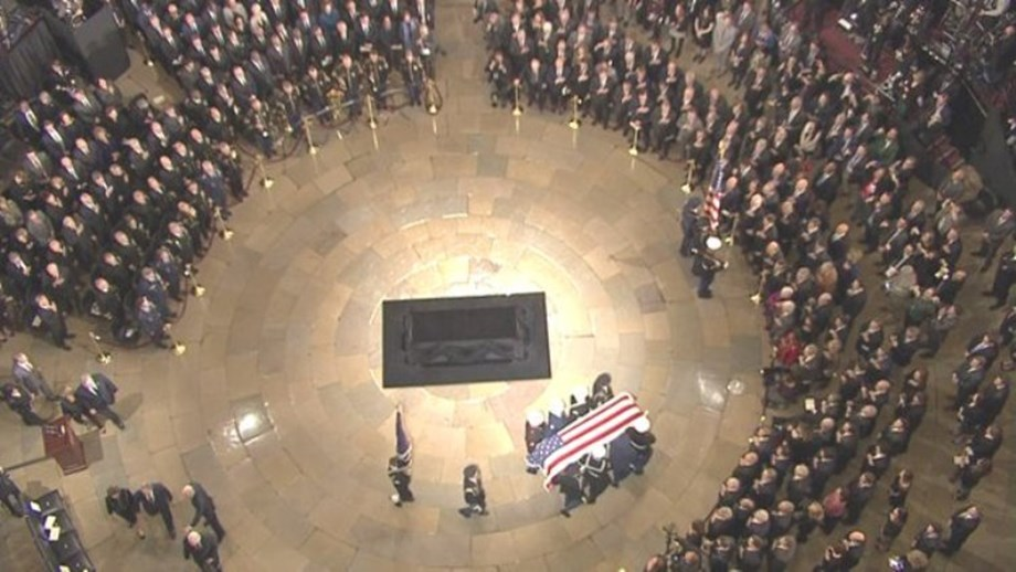 People News Roundup: Washington pays respects to Bush as he lies in state at Capitol