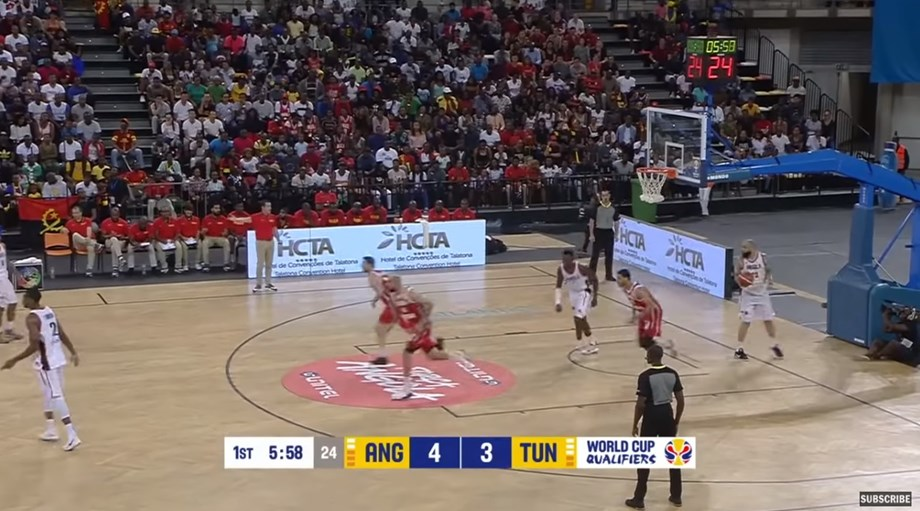 Basketball Update: Angola beats Tunisia