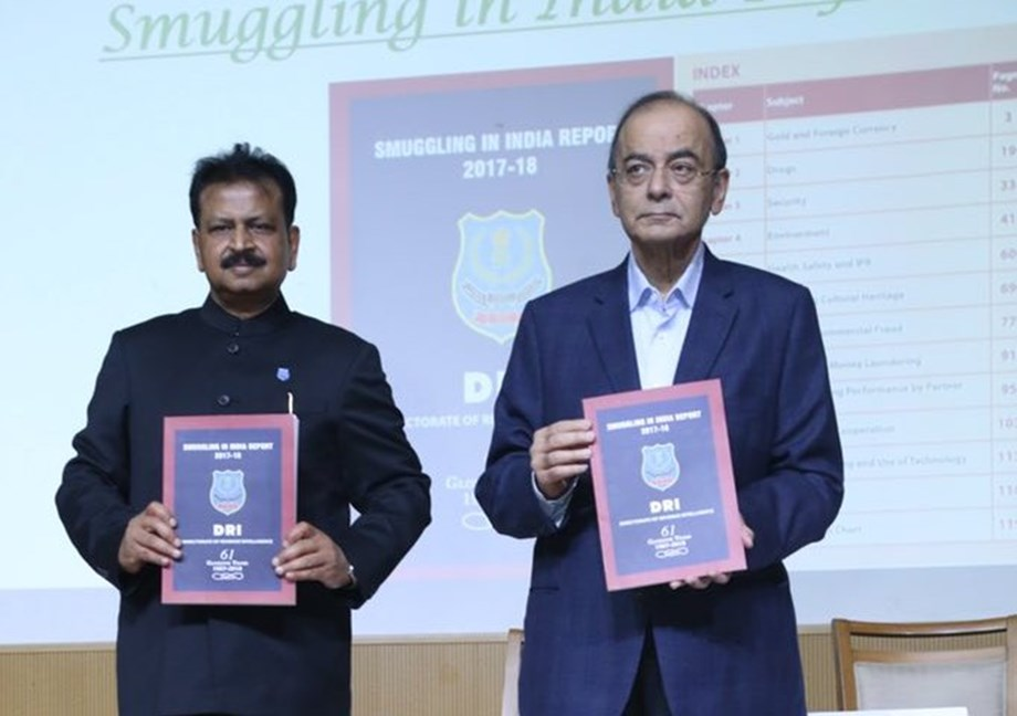 Arun Jaitley releases second issue of Smuggling in India Report 2017-18