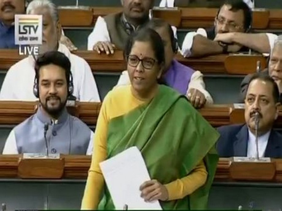 I don't eat much of onion, says Sitharaman in Lok Sabha