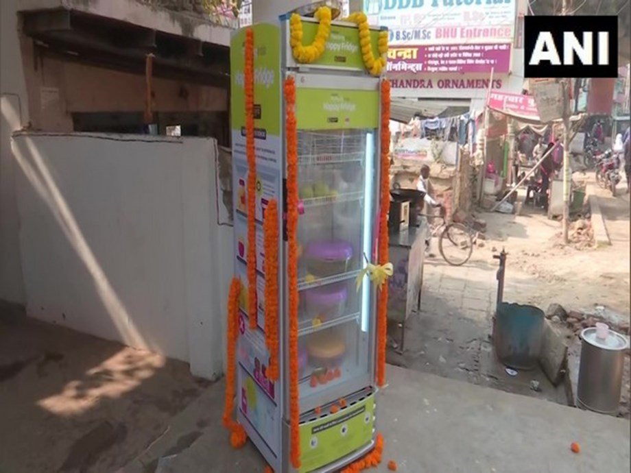 UP: NGO installs 'Happy Fridges' to provide free food to needy in Varanasi