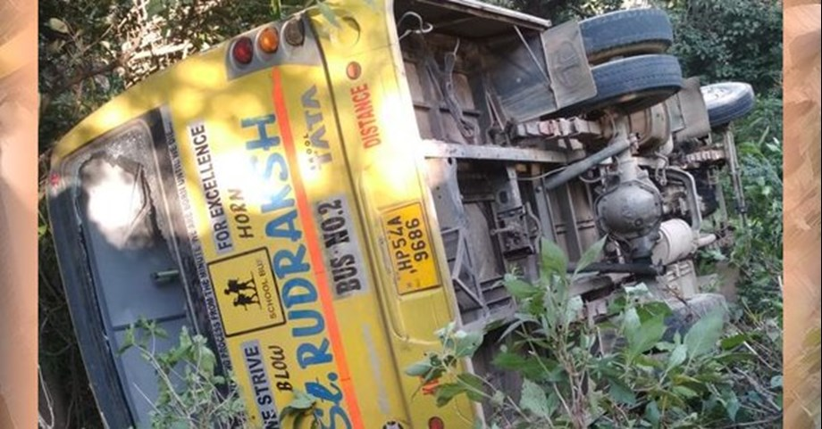Seven killed, 12 injured after school bus falls into gorge in Himachal's Sirmaur