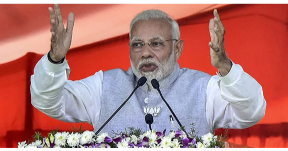Modi in Jharkhand lays foundation stone for irrigation project including Mandal dam