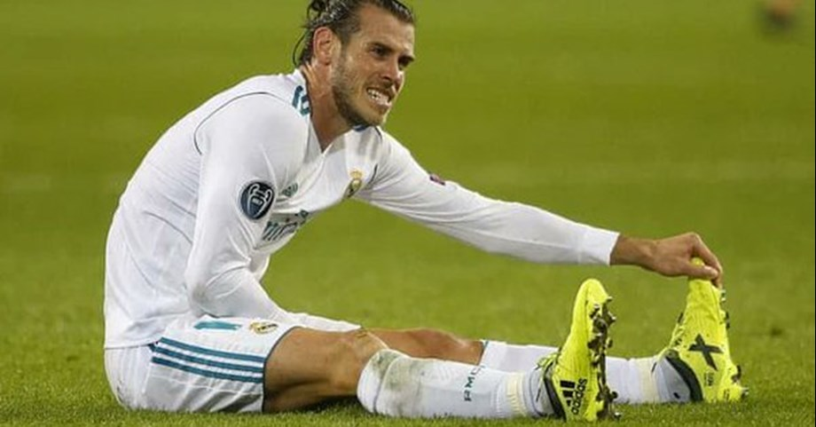 Real's F Bale's injury misfortune continues with calf problem