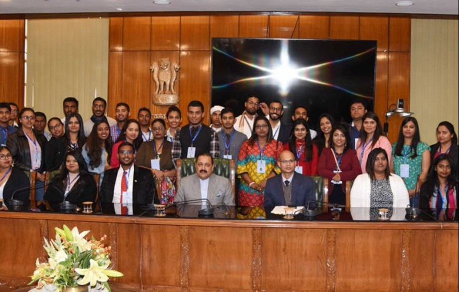 Dr Jitendra Singh interacts with 40 Indian Origin youth under Know India Programme