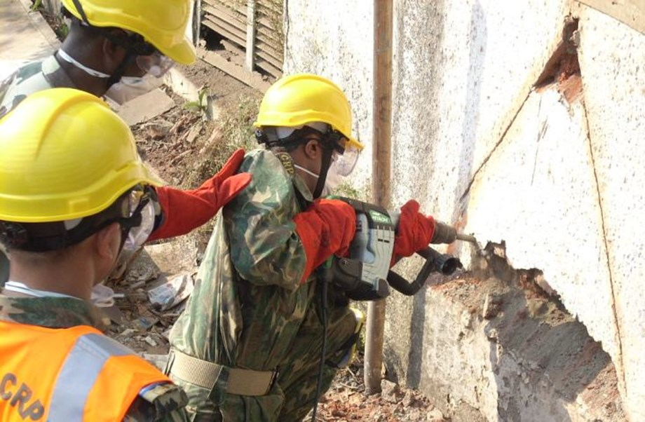 Joint exercise for provision of humanitarian assistance, disaster relief operations