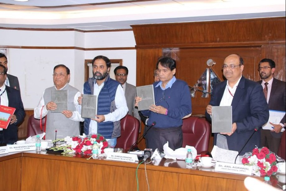 Suresh Prabhu urges cement industry to think of recycling of material