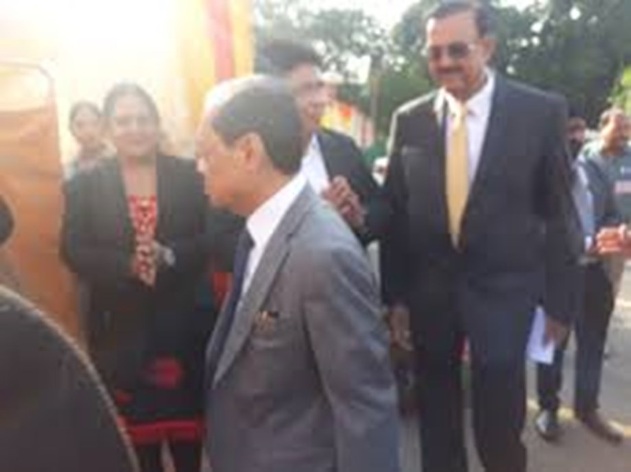 CJI Gogoi meets UP chief secretary, DGP; takes stock of security ahead of Ayodhya verdict