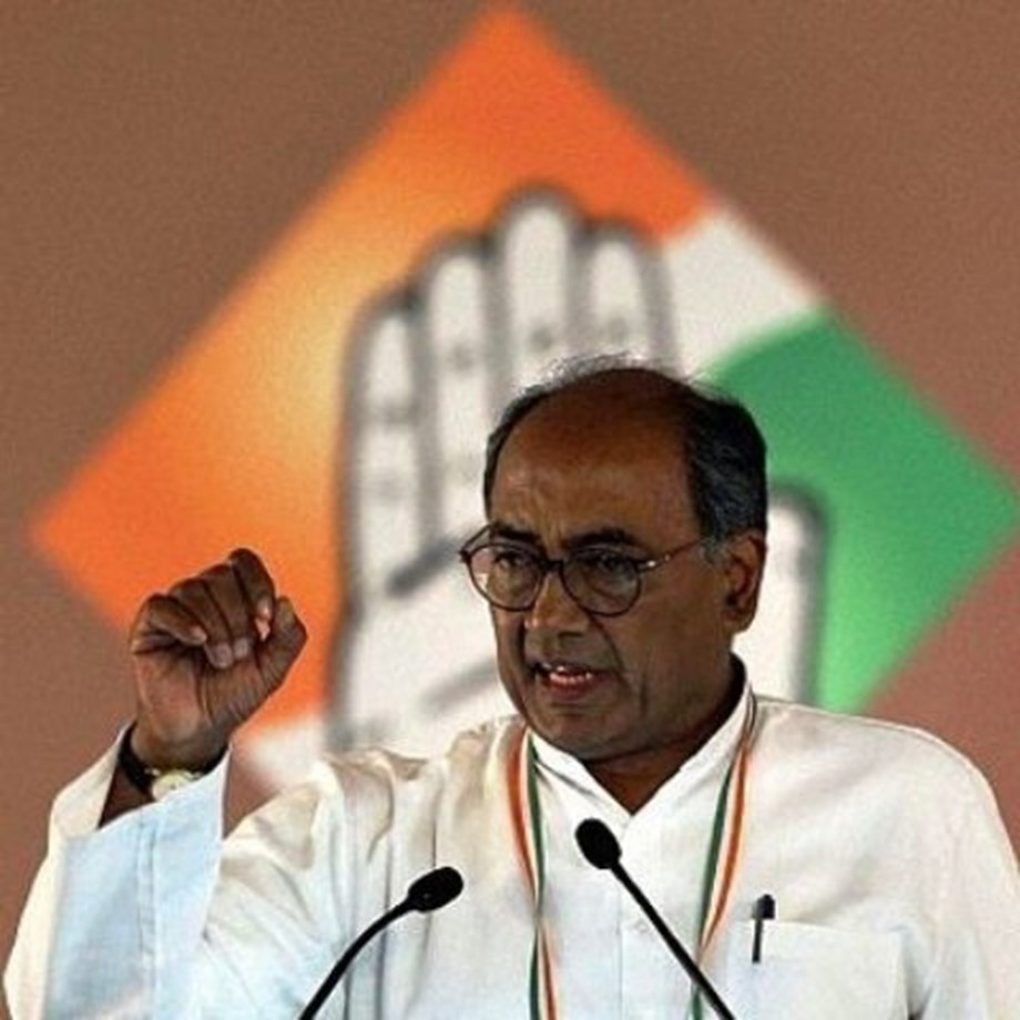 MP CM Kamal Nath wants Digvijaya to choose toughest seat for upcoming polls
