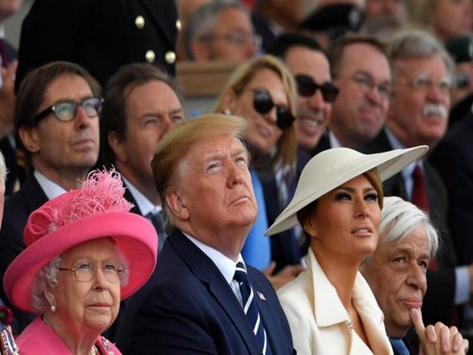 Trump addresses U.S. with prayer on 75th anniversary of D-Day