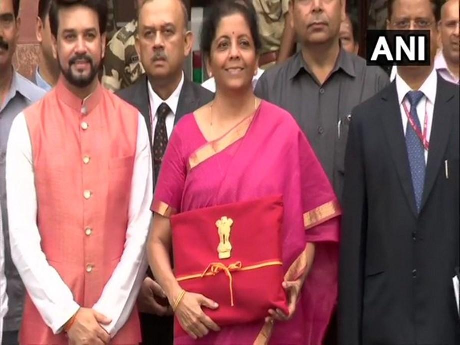 Nirmala Sitharaman begins presenting Union Budget