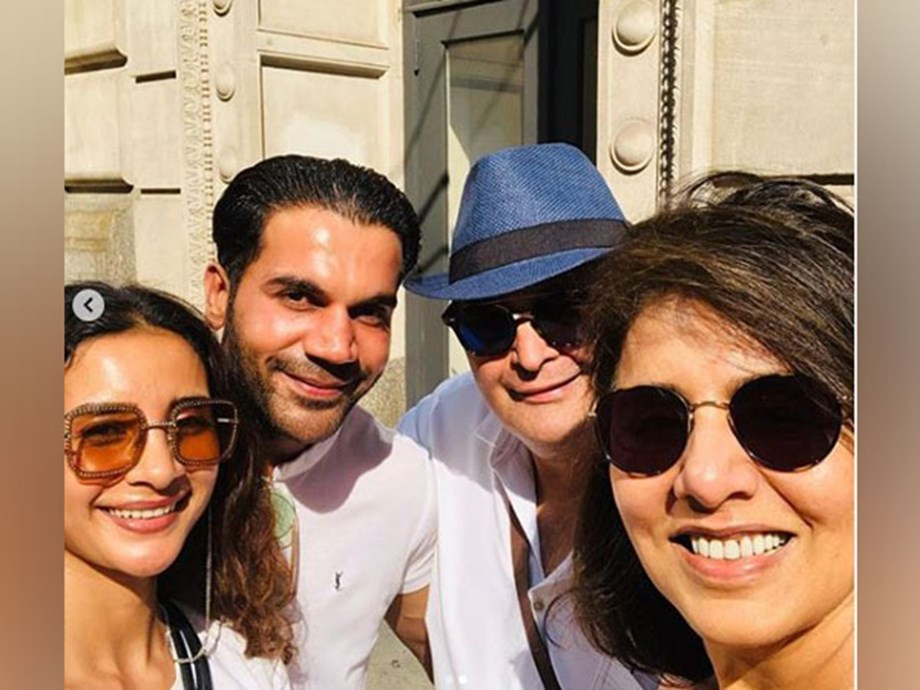 Look who Rishi and Neetu Kapoor 'bumped' into on streets of New York!