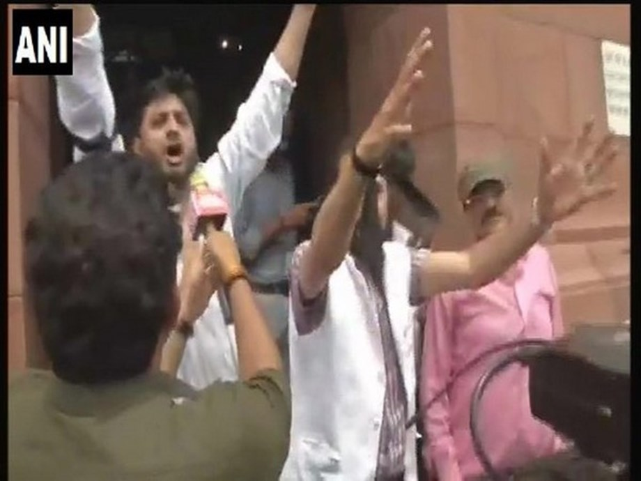 Article 370 scrapped: PDP lawmakers disrespect constitution in Parliament