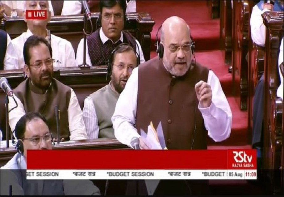 Article 370 never let Jammu and Kashmir unite with India: Home Minister Amit Shah