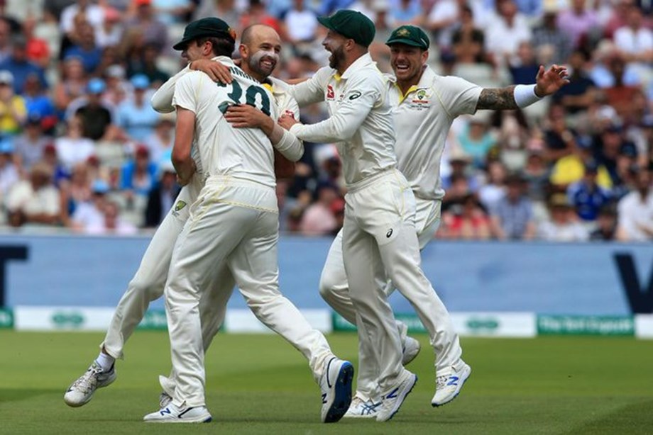 Australia's Lyon feels unworthy after equalling Lillee mark