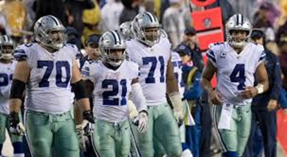 Cowboys gallop past Giants, stay atop NFC East