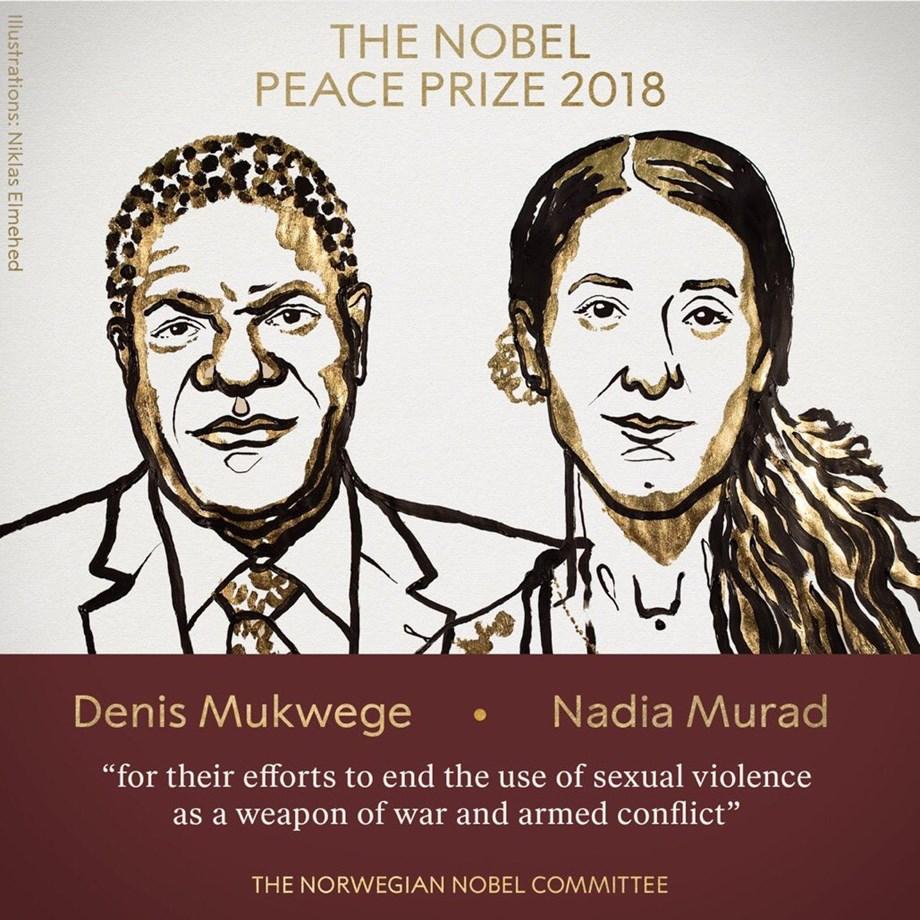 IOM appreciates Nobel Peace prize laureates