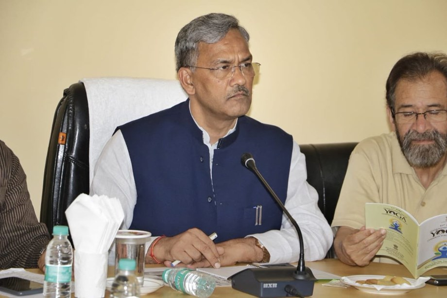 Trivendra Singh Rawat expresses grief over death of CRPF constable