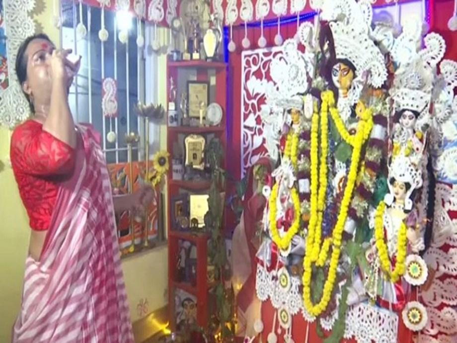 West Bengal: Transgender community offers prayer to unique 'Ardh Nariswar' idol